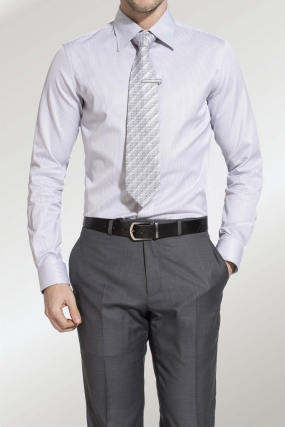 RH Shirt | Business William Grey and  White